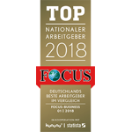 Focus TOP Nationaler Arbeitgeber