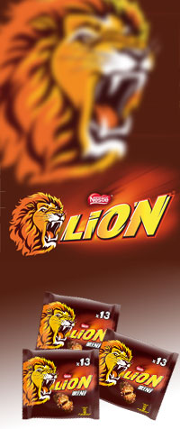 LION® Schokoriegel