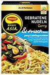 Magic ASIA Gebratene Nudeln frisch Curry