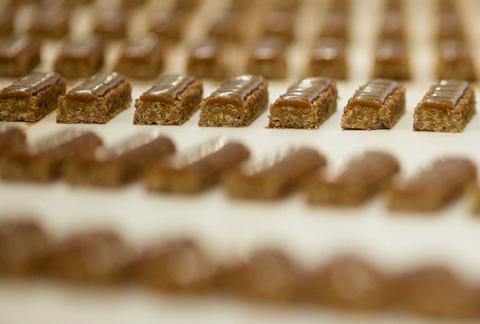 Grüne Energie und kein Abfall in Nestlé Werk in Fawdon