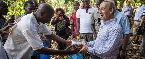 CNN beim Kakaoanbau