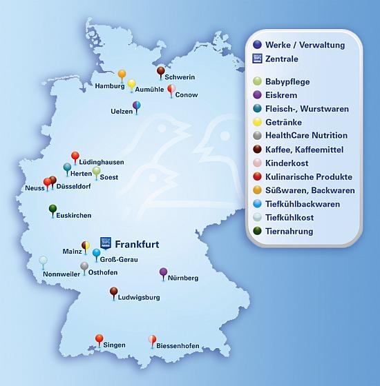 Standorte Der Nestl Deutschland Ag