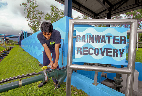 Recovering and reusing wastewater