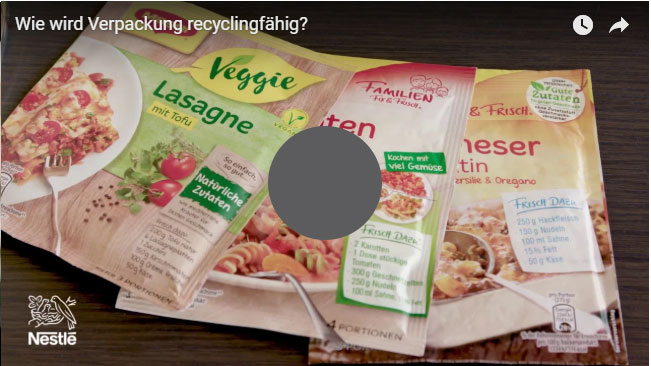 Wie wird Verpackung recyclingfähig?